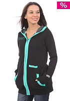 FORUM Womens Keeper Hooded Zip Sweat black to the future