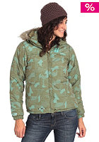 FORUM Womens Spree Puffy Jacket olive snow park
