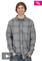 FORUM Yokel Flannel L/S Shirt pearl grey