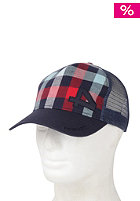 FORVERT Fengler Adjustable Ball Cap red/navy/checked