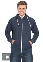 FORVERT Ginsberg Hooded Zip Sweat navy