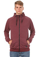 FORVERT Ginsberg Hooded Zipper red