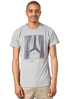 FORVERT Gustave S/S T-Shirt grey-melange