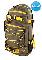 FORVERT Ice Louis Backpack olive/yellow