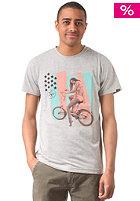 FORVERT Jarek S/S T-Shirt lightgrey-melange