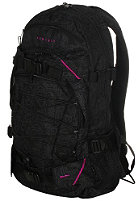 FORVERT New Louis Backpack 25 L black allover