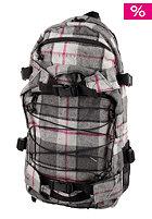 FORVERT New Louis Backpack 25 L grey black checked