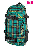 FORVERT New Louis Backpack blue green yellow checked
