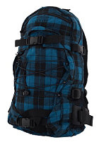 FORVERT New Louis Backpack flannel blue checked