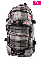 FORVERT New Louis Backpack grey black checked