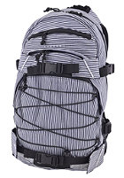 FORVERT New Louis Backpack navy/white striped