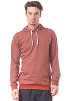 FORVERT Rocco Hooded Sweat rust/white