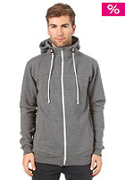 FORVERT Trapper John Hooded Zip Sweat grey