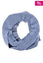 FORVERT Tube Scarf blue melange