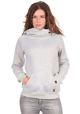 FORVERT Womens Carina Hooded Sweat greymottled