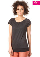FORVERT Womens Easy S/S T-Shirt black/grey