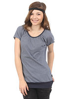 FORVERT Womens Easy Top blue/white