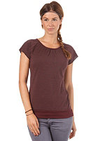 FORVERT Womens Easy Top red grey