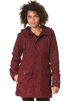 FORVERT Womens Fiss Jacket burgundy