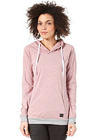 FORVERT Womens Hilgi Hooded Sweat grey-red