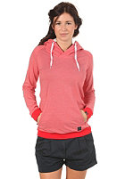 FORVERT Womens Hilgi Hooded Sweat red/white