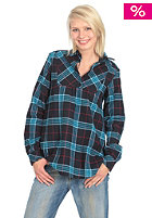 FORVERT Womens Lanai L/S Shirt blue checked