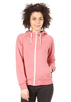 FORVERT Womens Sarah Hooded Sweat red-melange