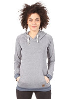 FORVERT Womens State Hooded Sweat blue-melange