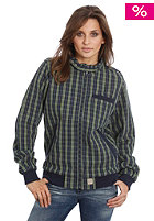 FORVERT Womens Stero Total Jacket navy checked