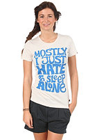 FORVERT Womens Wake Up S/S T-Shirt creme