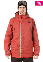 FOURSQUARE Code Jacket foursquare red
