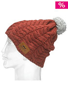 FOURSQUARE Mop Top Beanie foursquare red