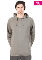 FOURSQUARE Po Henley L/S Shirt heather granite