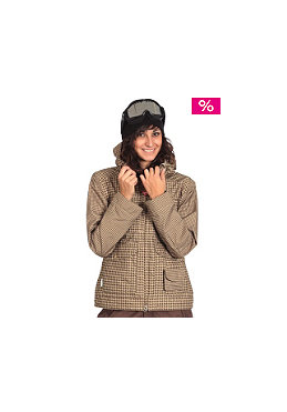 FOURSQUARE Womens Angela Jacket 2009 tan big toof