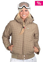 FOURSQUARE Womens Candice Jacket 2009 tan big toof 