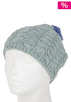 FOURSQUARE Womens Mop Top Beanie clear sky