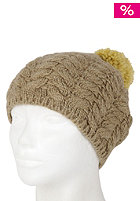 FOURSQUARE Womens Mop Top Beanie desert eagle