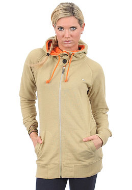 FOURSQUARE Womens Sweatdreams Hooded Zip Sweat grain