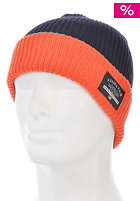 FOURSTAR 2-Tone Fold Beanie navy/orange