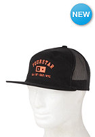 FOURSTAR Athletic Bar Trucker Snapback Cap black