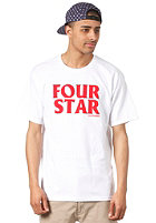 FOURSTAR Four Hero S/S T-Shirt white