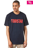FOURSTAR League S/S T-Shirt navy