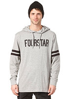 FOURSTAR Malto Signature Hooded Sweat heather grey