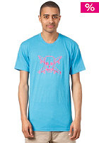 FOURSTAR Neon Pirate S/S T-Shirt blue
