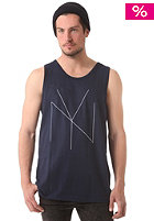 FOURSTAR Thinline Tank Top navy