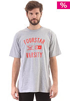 FOURSTAR Varsity S/S T-Shirt athletic heather