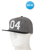 FOURSTAR Wool Felt 04 Snapback Cap black/white