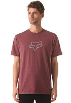 FOX Ageless S/S T-Shirt heather burgundy