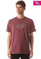 FOX Ageless S/S T-Shirt heather burgundy