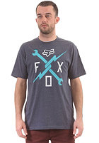 FOX Allegiance S/S T-Shirt heather navy